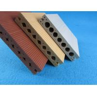 Outdoor Eco Friendly Hollow Wood Plastic Composites For Public Building Manufactures