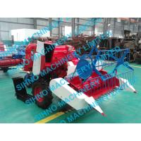 mini paddy combine harvester with Tyre wheel , rice wheat, 12hp ,14hp Manufactures