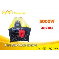 3000w 5000 Watt Pure Sine Wave Inverter With Charge 64 Bit DSP Control Chip Manufactures