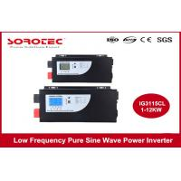 RS232 Black Color Power Inverters / Off Grid Power Inverter Single Phase Manufactures