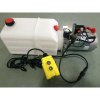 China mini Hydraulic Power Packs 12V DC 1.6kw with 8L plastic tank max pressure 210bar wholesale