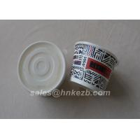 China Unfolded 12oz Disposable Paper Cups Single / Double / Ripple Wall For Ice Cream wholesale