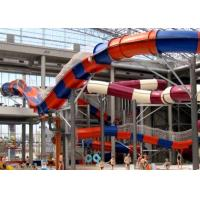 China Huge 15m High Fiberglass Water Slides for Amusement Water Playground wholesale