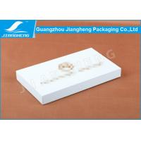 iPhone Case Packaging White Cardboard Gift Boxes Coated Paper Golden Debossed Logo