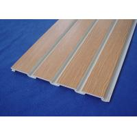 pvc slatwall for store fixture Manufactures
