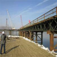 Heavy Type Temporary Construction Bridge Modular Temporary Construction Platform Manufactures
