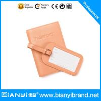 2015 Hot Selling Newest Design Fashion Custom leather Luggage Tag Manufactures