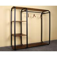 China Customized Design Garment Storage Rack / Industrial Clothing Rack Easy Assemble on sale
