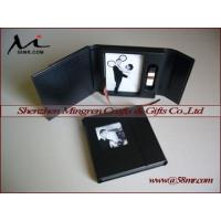Leather Photo Storage Box with USB Box Manufactures