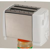 White Electric Toasters BH-006B , 2 Slice Toaster Oven With Stop Button Manufactures