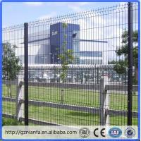 China ISO/CE certificated galvanized and PVC coated Welded Wire Mesh Fence(Guangzhou Factory) wholesale