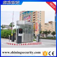 China universal remote control parking boom barrier gates with  125khz rfid reader on sale