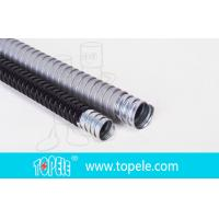 China Electrica Grey Galvanized Steel PVC Flexible Conduit And Fittings wholesale
