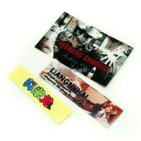 China Screen Printing Tagless Labels For Clothing / Hats , Heat Transfer Brand Name Tags on sale