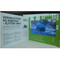 Brochure Display Stand 10.1 inch LCD Video Booklet With Multi - Media Player Manufactures