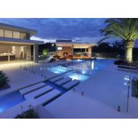 Attractive Security Glass Pool Fencing Glass Panels , Fully Tempered Glass Pool Fence
