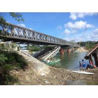 Assembling Type Bailey Truss Bridge Minimal Maintenance For Earthquake Emergency Use