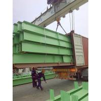 China Customized Green H Section Painting Structural Steel I Beam U Channels on sale