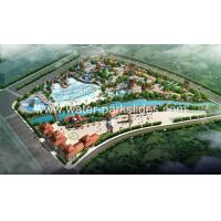 Large 6 Hectares Water Park Resort Constructing Capacity 20000 Riders Manufactures