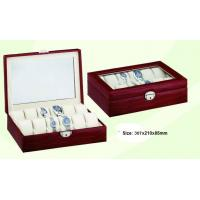 China Leather Watch Boxes for 12 watches on sale