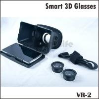 Plastic Version Virtual Reality Video 3D Glasses Google Cardboard Manufactures