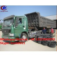 China Factory sale best price CLW brand 36m3 dump tipper trailer, HOT SALE! high quality and good price dump tipper trailer wholesale