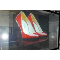 Customized Rear Projection Film / clear holographic film IN Window Advertising Manufactures