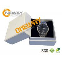 Printed Custom Packaging Boxes Elegant Watch Gift Paper Box With Lid Manufactures