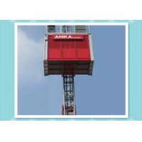 Man Material Construction Hoist Elevator With 2000kg Load Capacity Manufactures