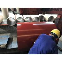 China PPGL Soft Prepainted Galvalume Steel Coil For Steel Roofing / Panels on sale