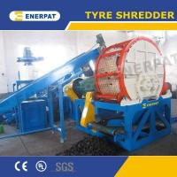 China Tire/tyre shredder machine for sale with UK design and China price on sale