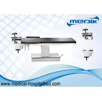 China Height Ajustable Electric Ophthalmic Surgical Operating Table Stainless Steel Structure on sale