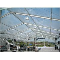 Beautiful Transparent Luxury Wedding Tents For Hire Clear Span Fabric Structures