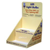 Simple design PDQ for LED Light Bulbs Manufactures