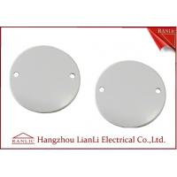China 65mm Steel Junction Box Cover C/W Screw PVC Conduit and Fittings For A B C Grade on sale