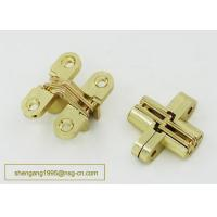 Made In china Excellent Quality 180 Degree 44 mm Zinc Alloy Firm Furniture Wooden Box Hidden Hinge Manufactures
