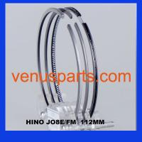 piston rings hino j08c( 13011-2960A,13011-2961A,13011-2962A) Manufactures