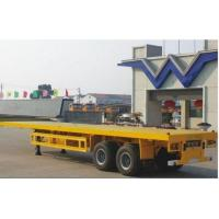Flat Bed Container Semi Trailer Manufactures