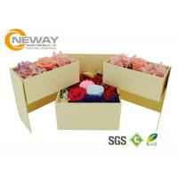 Exquisite Packaging for Roses Gift Box , Packaging Flower Box for Celebration Manufactures