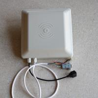 China Compact Low Power Uhf Rfid Smart Card Reader RS232 TCP / IP Interface 1-5M Distance wholesale
