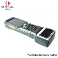 China RS232 Rugged Tablets PC Handheld PDA Devices with UHF RFID Reader / Printer on sale