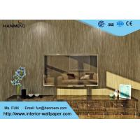 Coffee Durable Modern Wallpaper For Bedrooms , Hotel Modern Wall Covering Manufactures