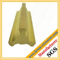 China C38500 brass extrusion profiles valve parts brass valve sections profiles fittings on sale