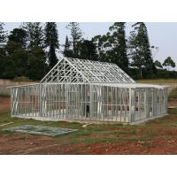 China Plasma & Oxyfuel Cutting painting fabrication steel framed structure prefab homes wholesale