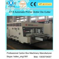 CE Approval Steady Carton Making Machine 40mm Baffle Thick Lead Edge Feeder Manufactures