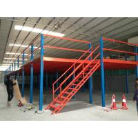 China Q235b Cold Rolled Steel Mezzanine Floor Boards , Heavy Duty Mezzanine Storage Systems on sale