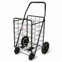 62 x 55 x 102.5cm Shopping Trolley with Plastic Wheels Manufactures