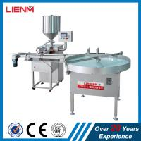 China Automatic face cream ointment lotion filling machine Cream Filling Machine Body Cream Gel Piston Filler/Balm Jar Filling on sale