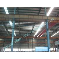 High Eave Industry Shed Structural Steelwork Fabrication With Low Cost Manufactures
