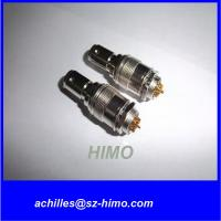 male and female Hirose 12-pin metal cable connector HR10A Series Manufactures